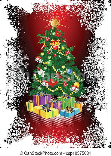 木, クリスマス - csp10575031