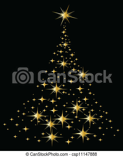 木, クリスマス - csp11147888