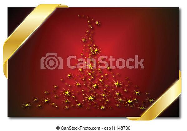 木, クリスマス - csp11148730