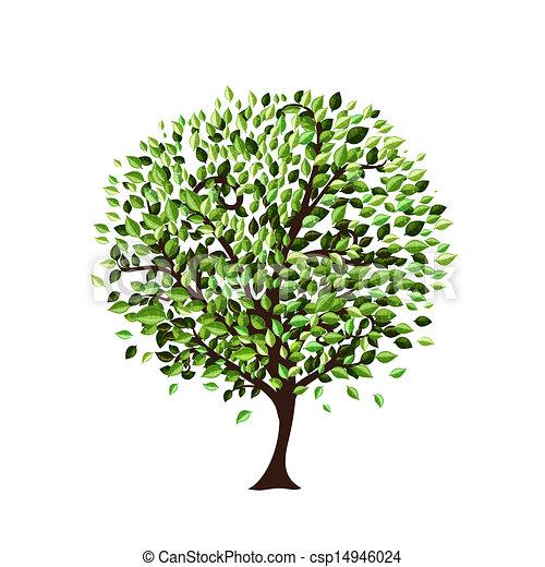 木, デザイン, 隔離された, あなたの - csp14946024