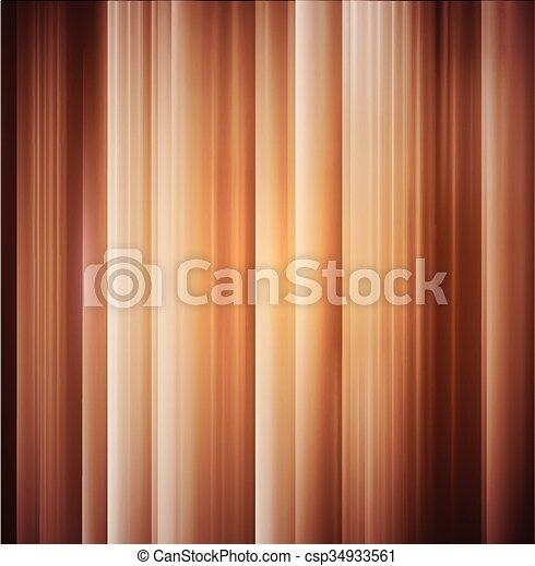 木, ベクトル, 手ざわり, 背景 - csp34933561