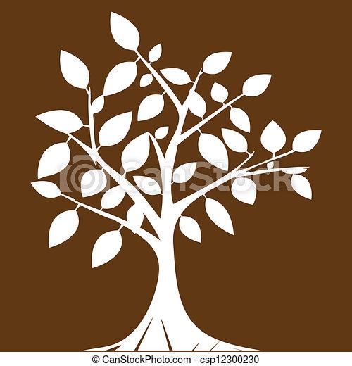 木, 抽象的 - csp12300230
