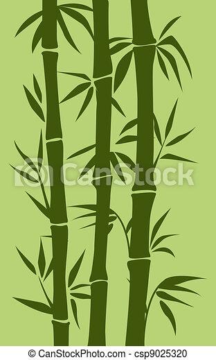木, 竹 - csp9025320