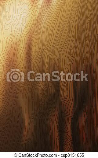 木, 背景, 手ざわり, vector. - csp8151655