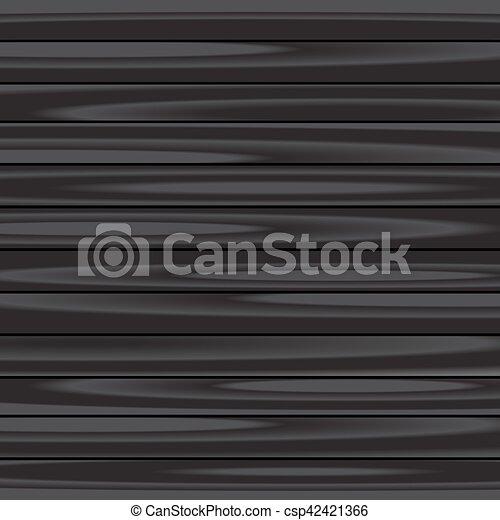 木, 黒い背景 - csp42421366