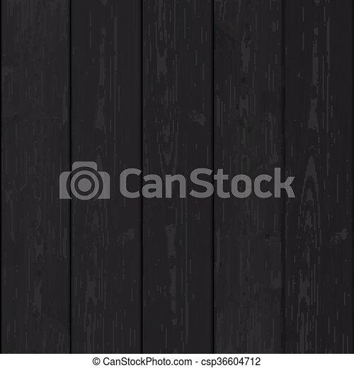 木, 黒い背景 - csp36604712
