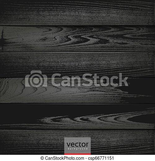 木, 黒, 手ざわり, 背景 - csp66771151