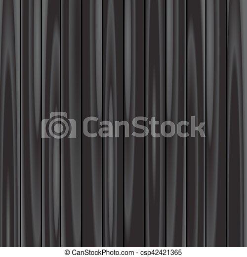 木, 黒, 背景 - csp42421365