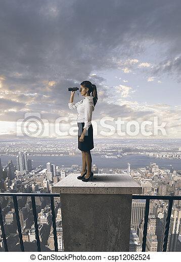 未来, ビジネス - csp12062524