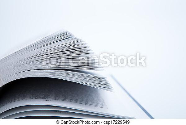 本, ページ - csp17229549