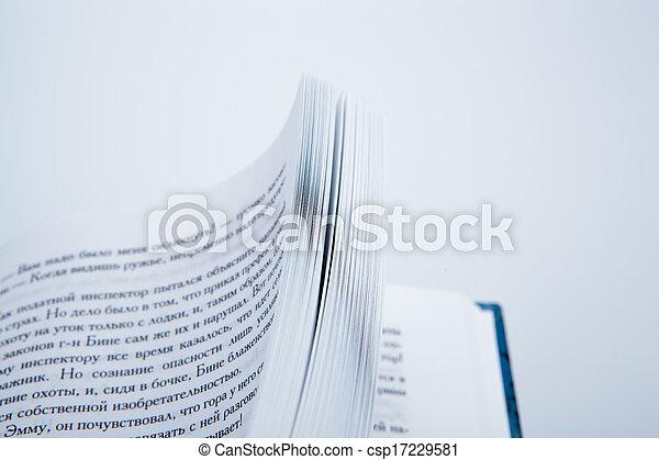 本, ページ - csp17229581