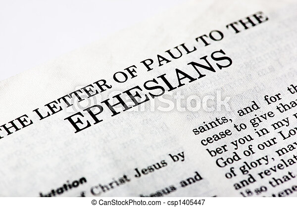 本, ephesians - csp1405447