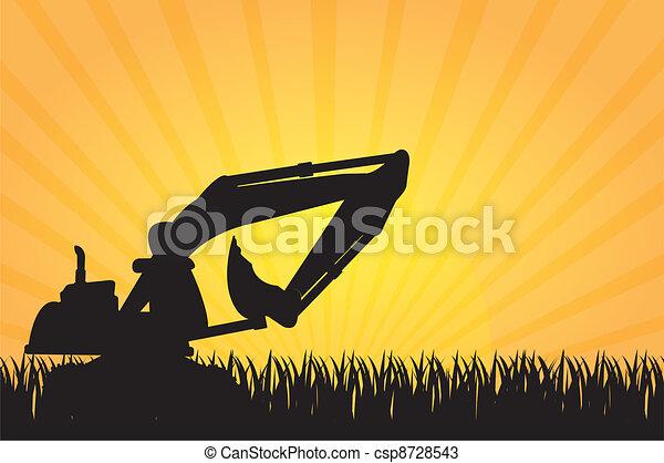 机器, 建设 - csp8728543