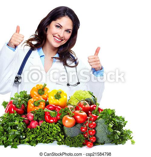 栄養学者, 女性の医者