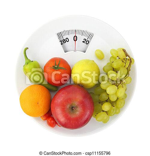 栄養, 食事 - csp11155796