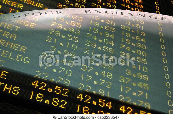 株式取引所 - csp0236547