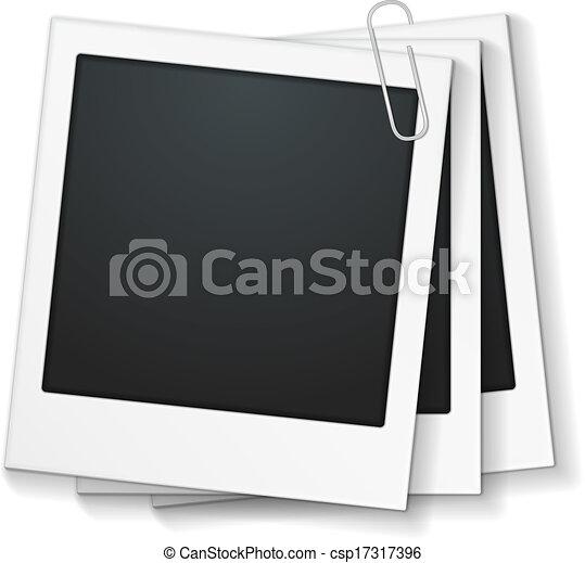 框架, 相片, 夾子 - csp17317396