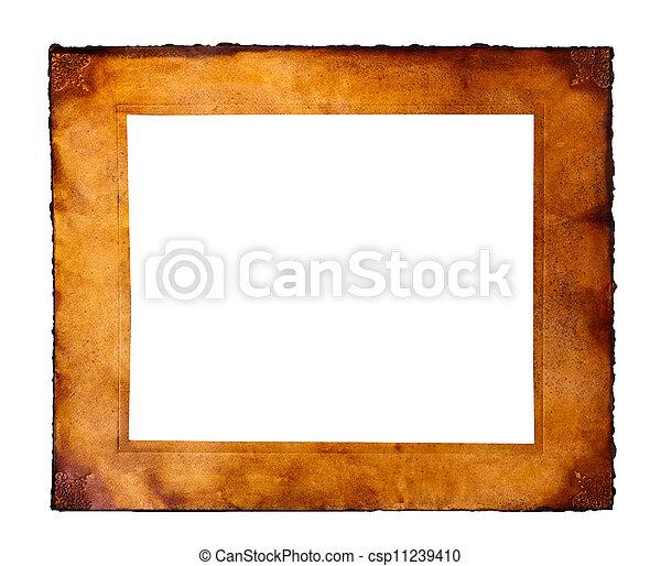 框架, 羊皮纸 - csp11239410