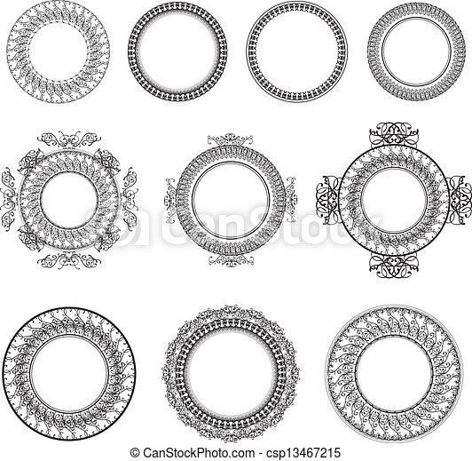 框架, 集合, 輪 - csp13467215