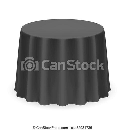桌布, 輪 - csp52931736