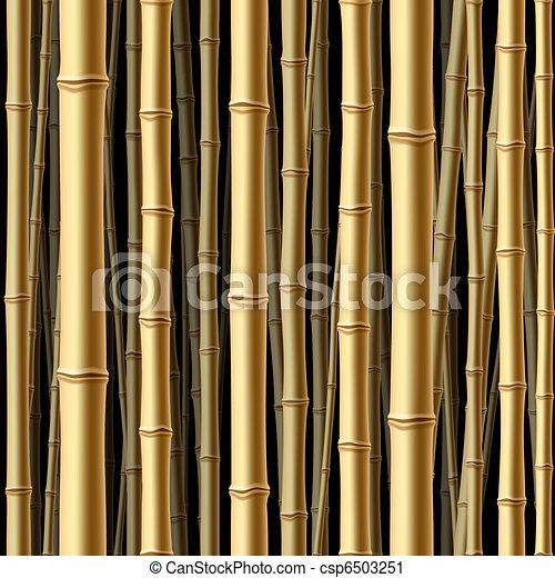 森林, seamless, 竹 - csp6503251
