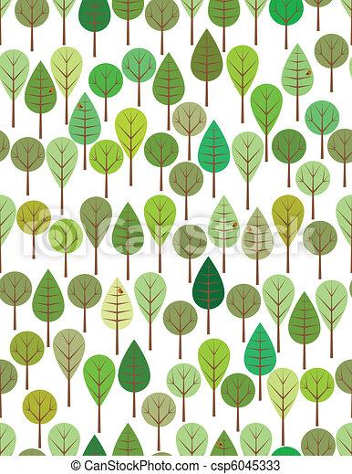 森 緑 森 パターン 子供 緑 Seamless