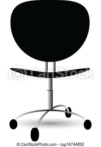 椅子, オフィス - csp16744852