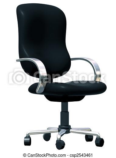椅子, オフィス - csp2543461