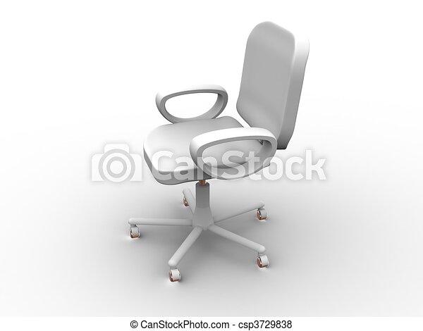 椅子, オフィス - csp3729838