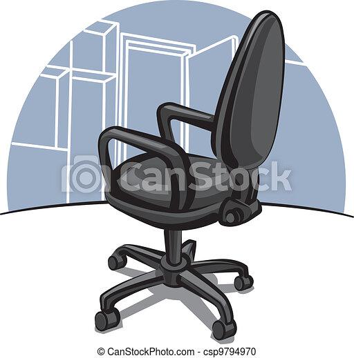 椅子, オフィス - csp9794970