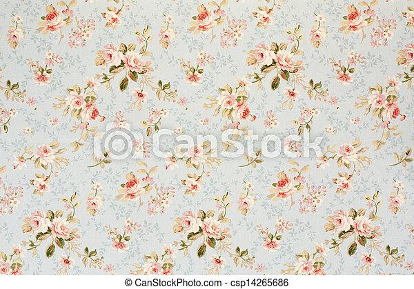 植物群, 升高, 浪漫, 背景, 挂毯 - csp14265686