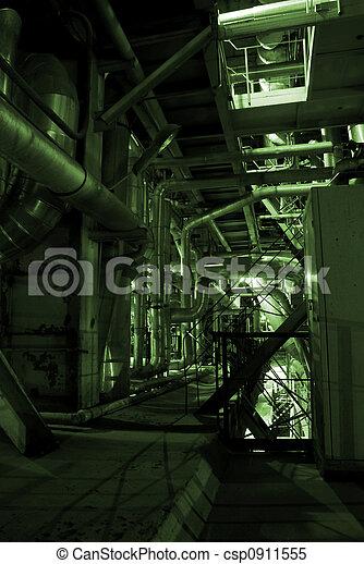 植物, 中, パイプ, エネルギー - csp0911555