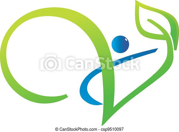 植物, 人々, swoosh - csp9510097