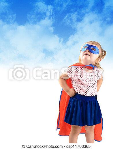 極度, わずかしか, 英雄, 救出, 子供 - csp11708365
