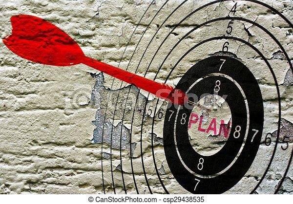 概念, グランジ, 計画, ターゲット - csp29438535