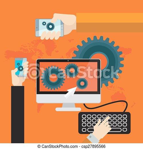 概念, ビジネス - csp27895566