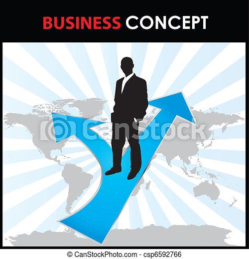 概念, ビジネス - csp6592766