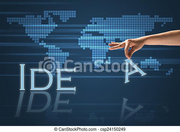 概念, ビジネス - csp24150249