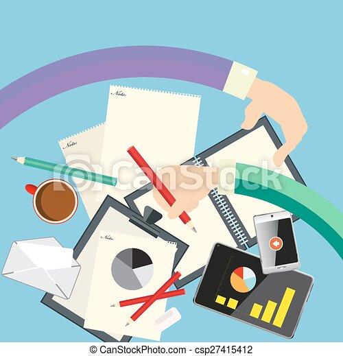 概念, ビジネス - csp27415412
