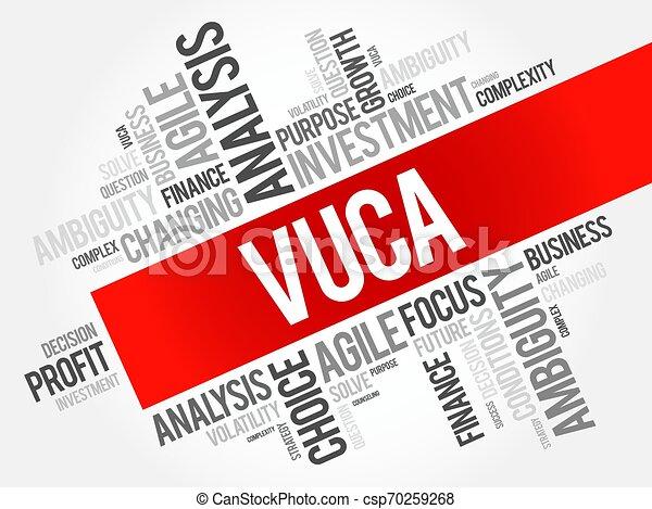 概念, ビジネス, 背景, vuca - csp70259268