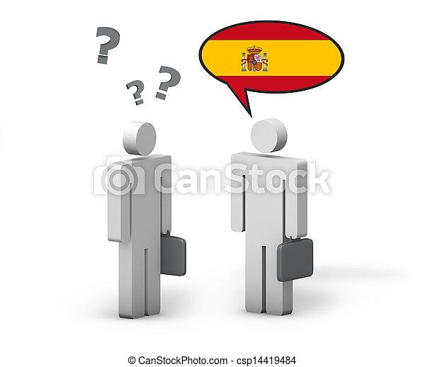 概念, ビジネス, 言語, スペイン語 - csp14419484