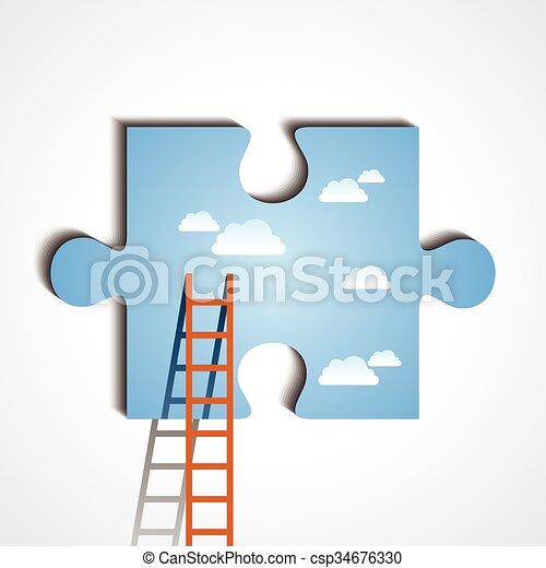 概念, ビジネス - csp34676330