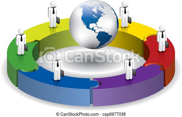 概念, ビジネス - csp6977038