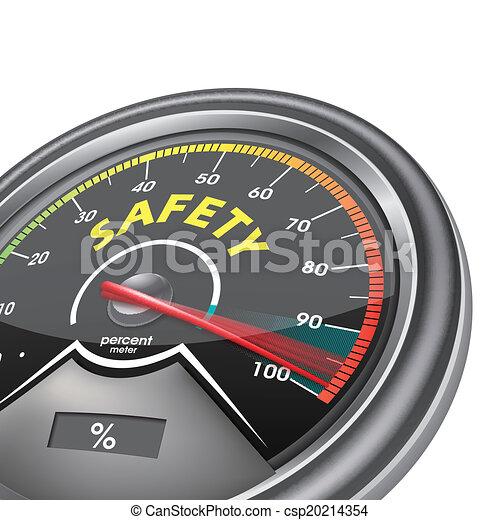 概念, メートル, 安全, セント, 百, につき - csp20214354