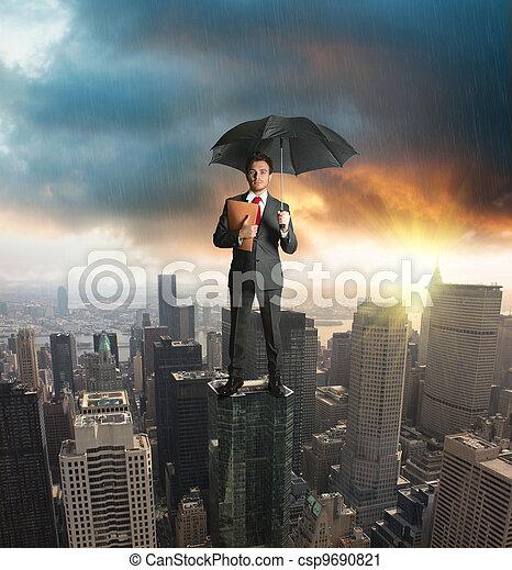 概念, 保険, 保護 - csp9690821