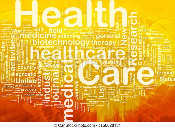 概念, 健康, 背景, 心配 - csp6828131
