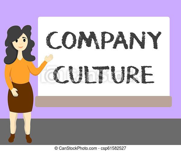 概念, 単語, ビジネス, テキスト, 会社, 仕事, 執筆, 環境, 要素, culture., 従業員 - csp61582527