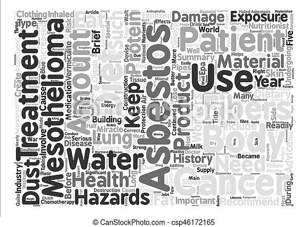 概念, 単語, mesothelioma, アドバイス, 危険, 食事である, 背景, テキスト, 雲, 歴史 - csp46172165