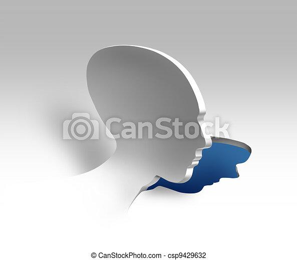 概念, 心理学, 精神医学 - csp9429632