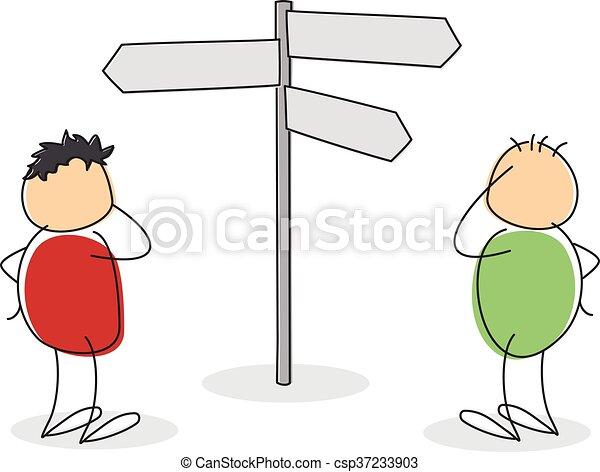 概念, 機会, 選択 - csp37233903